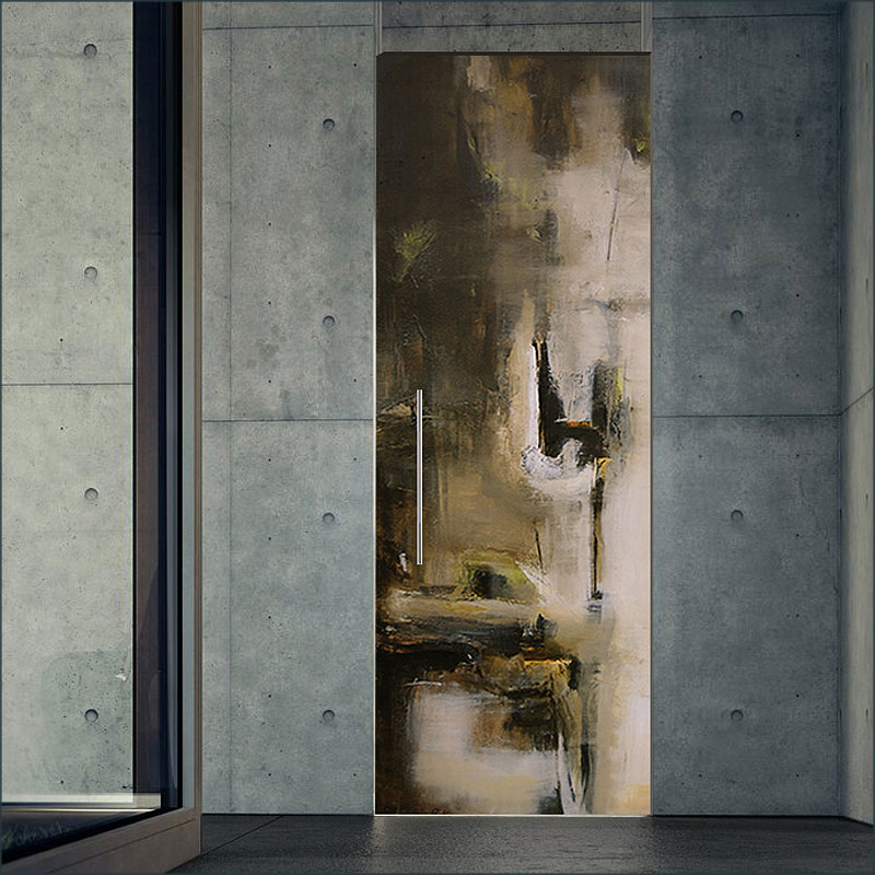 Nasato, A fine art, contemporary  door design by Sargam Griffin