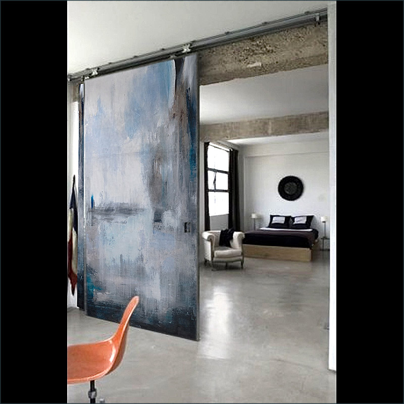Scopello, A fine art, contemporary  door design by Sargam Griffin