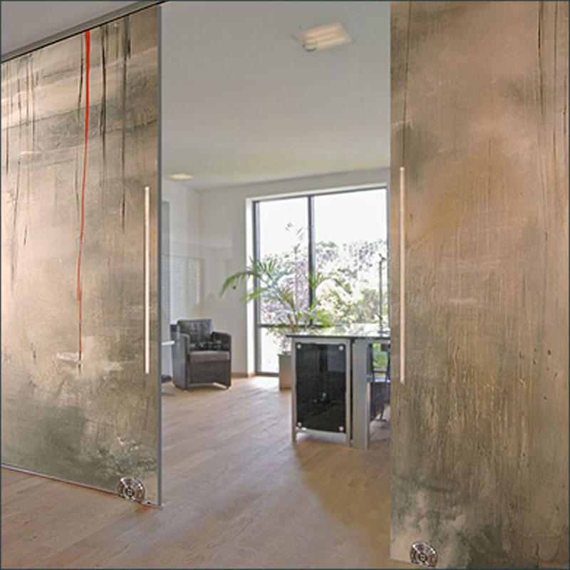 Taramino,  A fine art, contemporary  door design by Sargam Griffin
