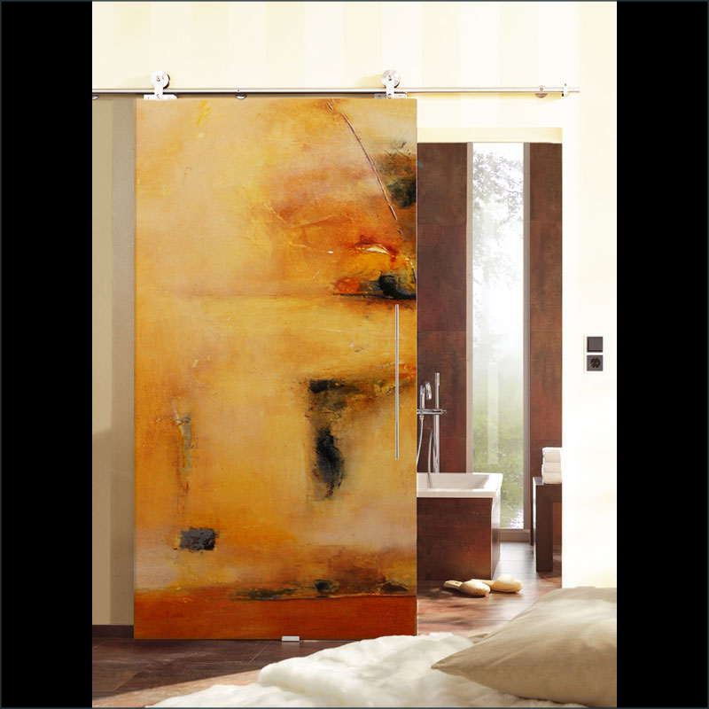 Belleza, A fine art, contemporary  door design by Sargam Griffin